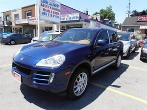 2008 Porsche Cayenne Blue Leather Sunroof AWD  Only 111,000km