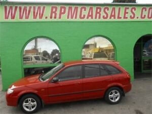 2002 Mazda 323 [Empty] Protege Red 5 Speed Manual Hatchback Nailsworth Prospect Area Preview