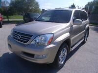 2003 Lexus GX470, PREMIUM PACKAGE,AWD,FULLY LOADED, NAVIGATION