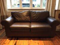 Ikea Ektorp Faux-Leather 2-Seat Sofa