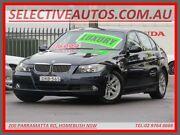 2007 BMW 325I E90 25i Blue 6 Speed Steptronic Sedan Homebush Strathfield Area Preview