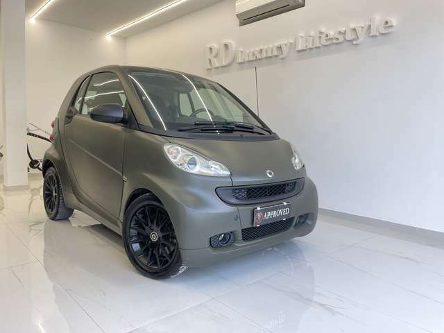 Smart forTwo 1000 52 kW MHD coupé passion wrapping verde opaco