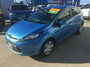 2009 Ford Fiesta WS CL Blue 4 Speed Automatic Hatchback Maryborough Fraser Coast Preview