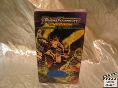 Transformers Energon The Return of Megatron VHS Animated NEW Screener