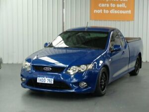 2008 Ford Falcon BF Mk II XR6 Ute Super Cab Blue 5 Speed Manual Utility Rockingham Rockingham Area Preview