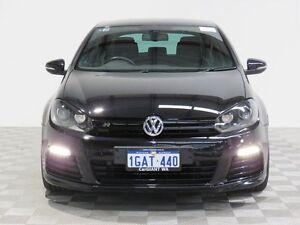 2011 Volkswagen Golf 1K MY11 R Black 6 Speed Direct Shift Hatchback Jandakot Cockburn Area Preview