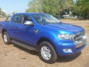 2017 Ford Ranger PX MkII XLT Double Cab Blue 6 Speed Sports Automatic Utility Stuart Park Darwin City Preview