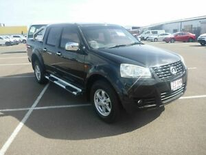 2011 Great Wall V240 K2 MY11 Black 5 Speed Manual Utility Vincent Townsville City Preview
