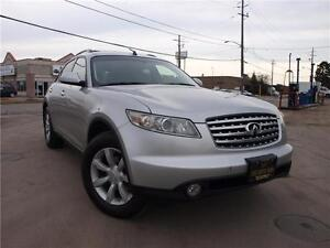 2004 Infiniti FX35 NO ACCIDENTS, MINT! 416-742-5464