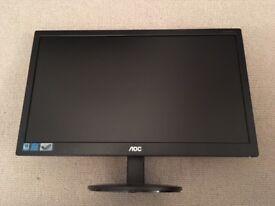 19.5 inch AOC monitor