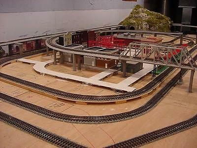 Lionel Super O Trackage - 58 Pcs w/ Bus Bars (FREE SHIPPING)