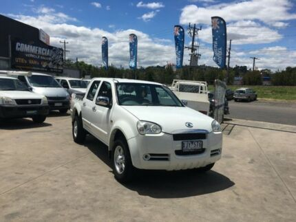 2009 Great Wall V240 K2 (4x2) 5 Speed Manual Dual Cab Utility Lilydale Yarra Ranges Preview