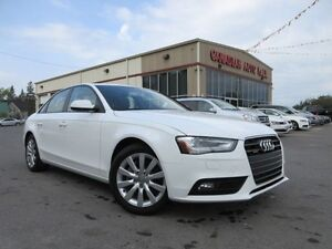 2013 Audi A4 2.0T QUATTRO, 6 SPD, LEATHER, ROOF, 69K!