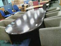 Large Boardroom Table and 10 Matching Chairs