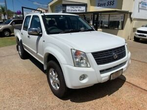 2007 Holden Rodeo RA MY07 LT White 5 Speed Manual Crew Cab Pickup