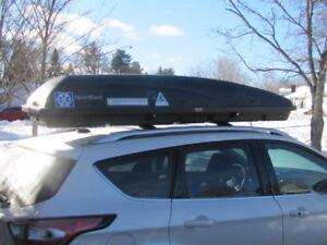 SportRack rooftop ski carrier