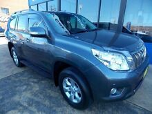 2012 Toyota Landcruiser GRJ150R 11 Upgrade Altitude (4x4) Grey 5 Speed Sequential Auto Wagon Croydon Burwood Area Preview
