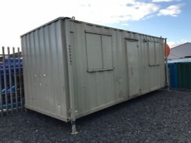 20' x 8' Anti Vandal Canteen Cabin, good condition
