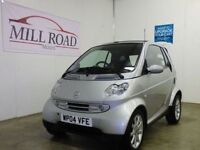 SMART FORTWO 0.7 PASSION SOFTOUCH 2d AUTO 61 BHP FULL HEATED LE (silver) 2004
