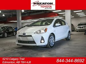2014 Toyota PRIUS C Technology, 3M Hood, Leather, Heated Seats,