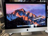 """Apple iMac 27 """" Intel i7 3.4Ghz, 16gb RAM & 1TB HDD Latest OSX Sierra 10.12.3 ONLY £750"""
