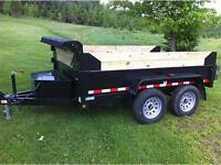 WINTER CLEARANCE**   Gator Trailers 72x10 5-Ton DOMPEUR
