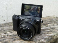 SONY ALPHA 5100 a5100 128GB NFC GPS WIFI Mirrorless Camera 24MP APS-C DSLR