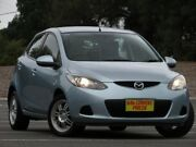 2009 Mazda 2 DE10Y1 Maxx Blue 5 Speed Manual Hatchback Blair Athol Port Adelaide Area Preview