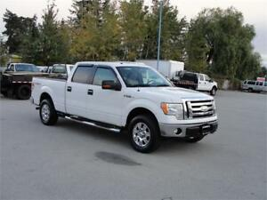 2009 FORD F-150 XLT CREW CAB 4 DOOR 4X4 POWER OPTIONS
