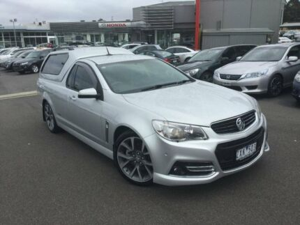 2013 Holden Ute Silver Sports Automatic Utility