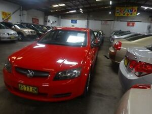 2007 Holden Commodore VE Omega Red 4 Speed Automatic Sedan Warwick Farm Liverpool Area Preview