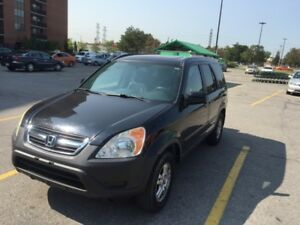 2005 HONDA CRV, 189K, AUTO,  HOT DEAL  / CERTIFIED