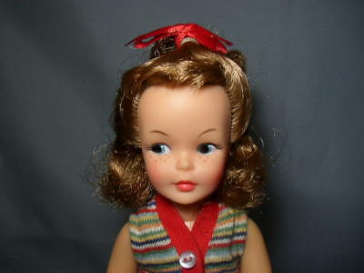 Vintage 1964 Brownette Posn Pepper Tammy Doll In Original Outfit