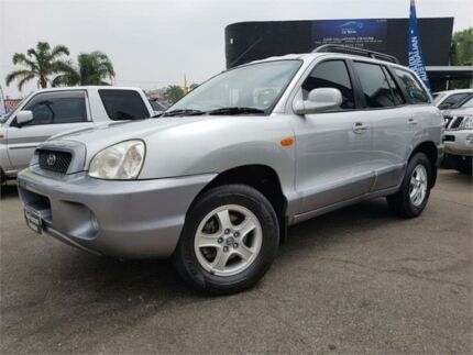2003 Hyundai Santa Fe GLS (4x4) Silver 4 Speed Automatic Wagon Mount Hawthorn Vincent Area Preview