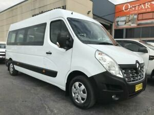 2016 Renault Master X62 MY15 (nbi) LWB MID Window White 6 Speed Automated Manual Van Revesby Bankstown Area Preview