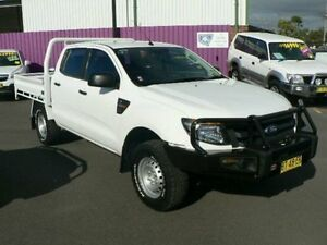 2012 Ford Ranger PX XL 3.2 (4x4) White 6 Speed Manual Dual C/Chas Dubbo Dubbo Area Preview