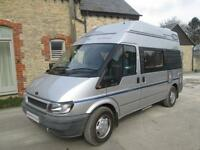 2002 AUTOSLEEPER DUETTO 2 BERTH, LOW MILEAGE CAMPERVAN / MOTORHOME FOR SALE