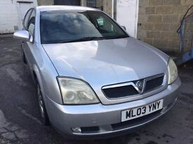 2003 Vauxhall Vectra, starts and drives well, 1 years MOT (runs out November 2017), car located in G