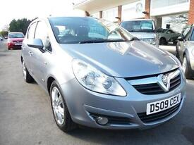 VAUXHALL CORSA 1.4 DESIGN 16V 5d 90 BHP NOW REDUCED BY £500 (silver) 2009