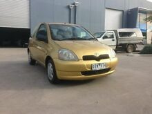 2001 Toyota Echo NCP10R Gold 4 Speed Automatic Hatchback Spotswood Hobsons Bay Area Preview