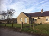 Semi-detached Farm Cottage. Two bedroom.