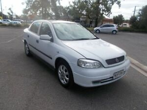 2002 Holden Astra TS Equipe Stark White 4 Speed Automatic Sedan Alberton Port Adelaide Area Preview
