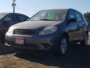 2008 Toyota Matrix XR Wagon Priced to Sell!!
