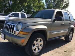 2005 Jeep Liberty Limited 4x4 $3 300 CERTIFIED!! FULLY LOADED!!