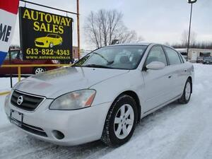 2002 Nissan Altima 2.5S * Low KM For The Year! *
