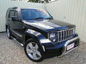 2012 Jeep Grand Cherokee WK MY2013 Limited Black Semi Auto Wagon Parramatta Park Cairns City Preview