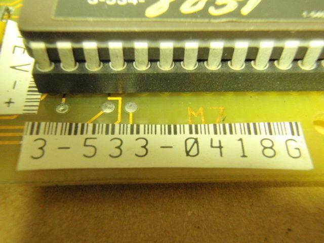 Circuit Board 3-533-0418G _ 35330418G Cincinnati Milacron Acramatic 850 PCB