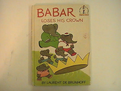 DR SEUSS'S BABAR LOSES HIS CROWN BY LAURENT DE BRUN HOFF 1967 EDITION - De Seuss