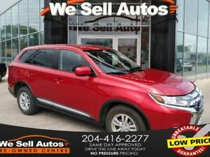 2017 Mitsubishi Outlander ES *HTD SEATS *REARVIEW CAM *ECO MODE
