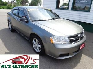 2013 Dodge Avenger SE only $81 bi-weekly all in!